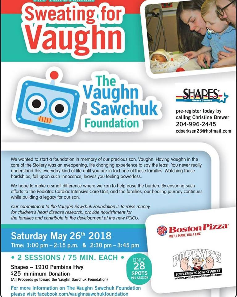 3rd Annual Sweating for Vaughn!